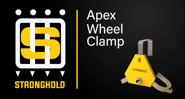 Protect your Investment with Stronghold Apex Triangular Wheel Clamps